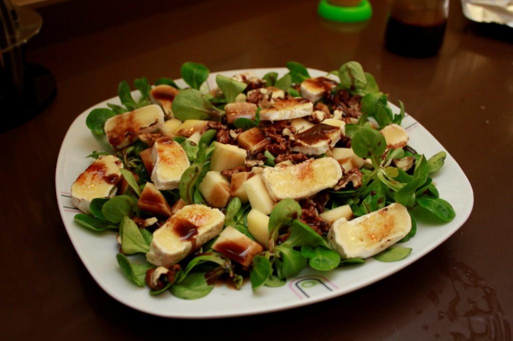 Recepink ensalada de can nigos manzana y queso de cabra - Queso de cabra y colesterol ...