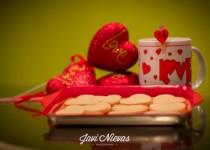 Galletas de mantequilla para San Valentin - Recepink